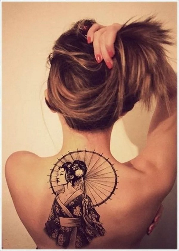 Awesome-Back-Tattoo-For-Women 60 Awesome Back Tattoo Ideas