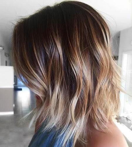 Hair-Color-Ideas-for-Short-Hair-017-ohfree.net_ Popular Balayage Hair Color Ideas for Short Hair