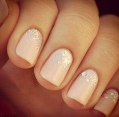 glitter-gradient-nails-ombre-nail Wedding Nails French Rhinestones Gems They Are Totally Popular Right Now