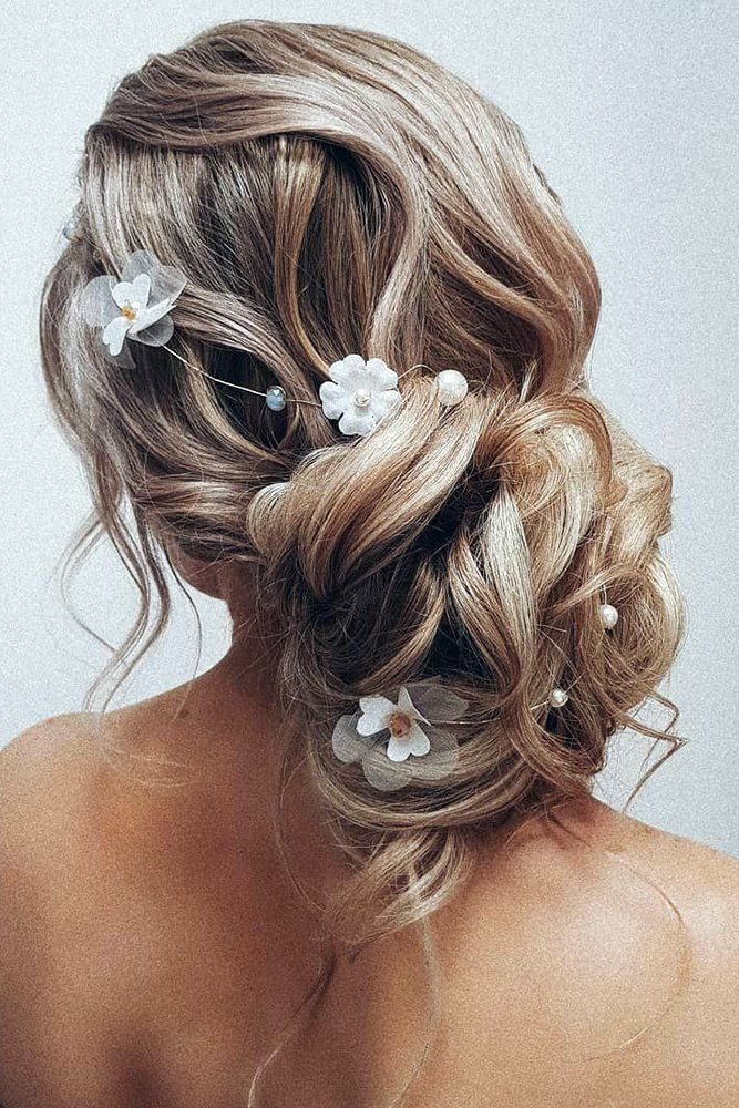 Bridal-Hair-Ideas-To-Look-Fabulous-024-ohfree.net_ Bridal Hair Ideas To Look Fabulous On Your Wedding Day