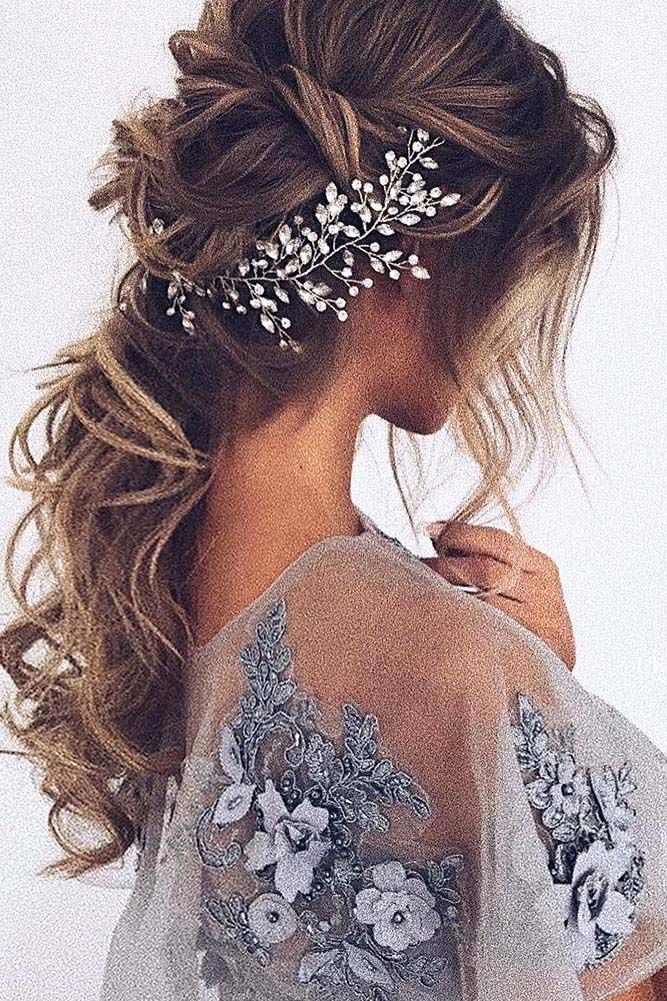 Bridal-Hair-Ideas-To-Look-Fabulous-028-ohfree.net_ Bridal Hair Ideas To Look Fabulous On Your Wedding Day