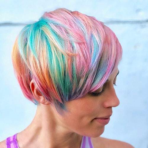 Crazy-Pixie-Hairstyle 28 Elegant Short Thick Hair Trends of 2020