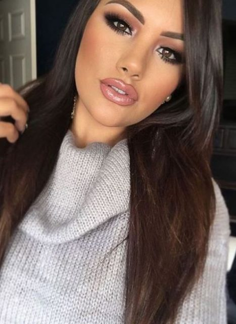 Dark-eyes-for-tremendous-look-2 Hot 2020 Makeup Ideas for Every Girl