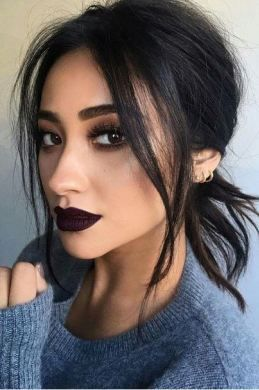 Dark-eyes-for-tremendous-look-3 Hot 2020 Makeup Ideas for Every Girl