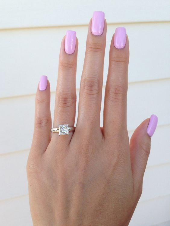 Easy-yet-beautiful-pink-nail-color-for-medium-nails Perfect Ideas for Pink Nails to Finish Feminine Look