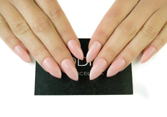 Pink-matte-nail-for-medium-nails Perfect Ideas for Pink Nails to Finish Feminine Look
