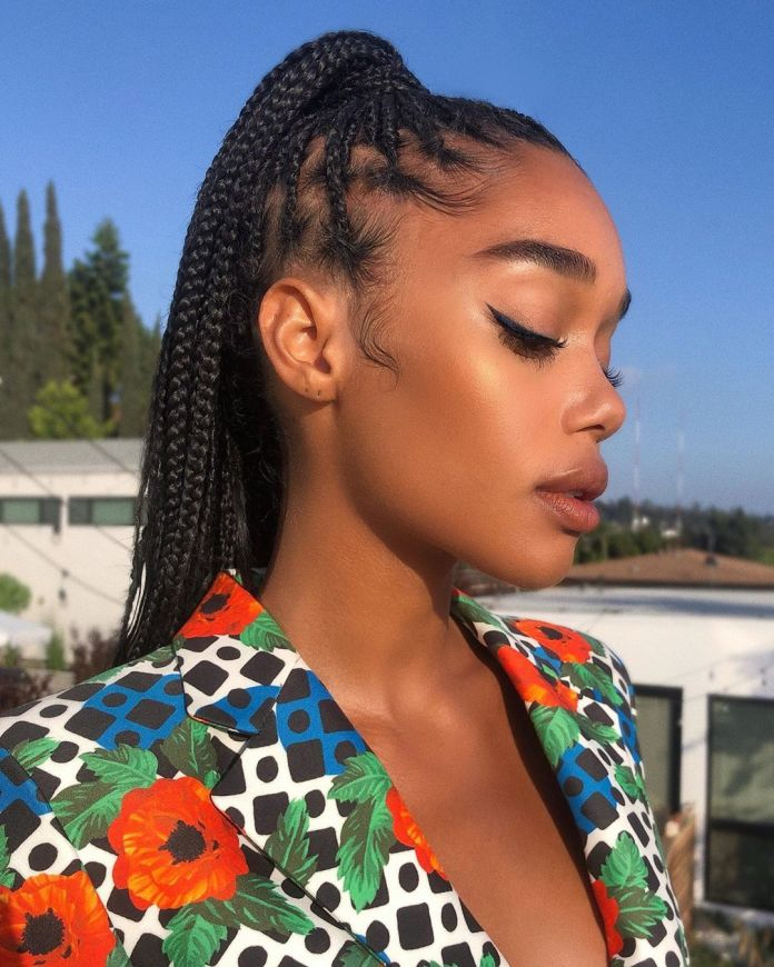 Braided-Ponytail-for-Summer 10 Biggest Summer Hair Trends of 2020