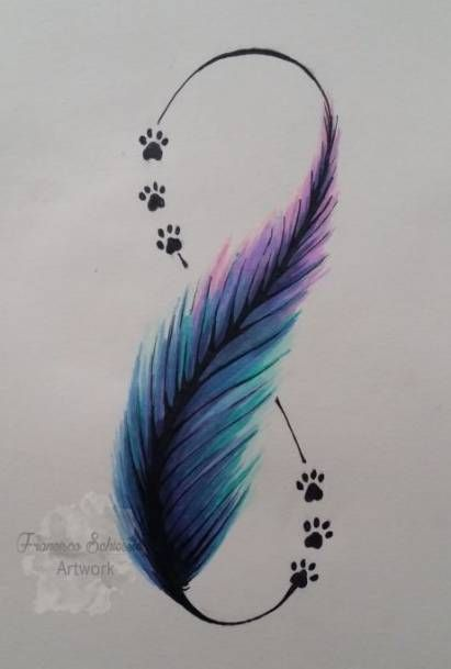 Brilliant-Feather-Tattoo-Designs-to-Impress-7 Brilliant Feather Tattoo Designs Try In 2020