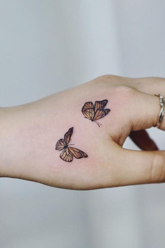 Impressive-and-Meaningful-Butterfly-Tattoos-That-Rock-11 27 Impressive and Meaningful Butterfly Tattoos That Rock 2020