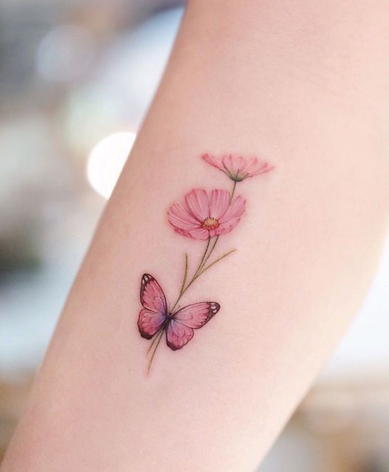 Impressive-and-Meaningful-Butterfly-Tattoos-That-Rock-17 27 Impressive and Meaningful Butterfly Tattoos That Rock 2020