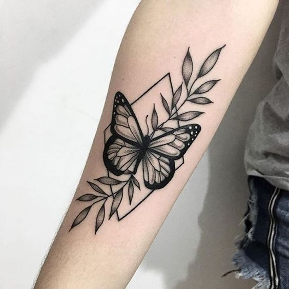 Impressive-and-Meaningful-Butterfly-Tattoos-That-Rock-18 27 Impressive and Meaningful Butterfly Tattoos That Rock 2020