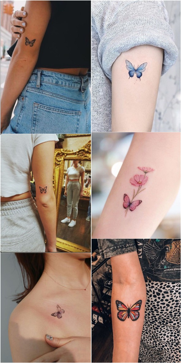 Impressive-and-Meaningful-Butterfly-Tattoos-That-Rock-27 27 Impressive and Meaningful Butterfly Tattoos That Rock 2020