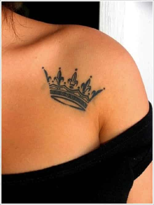 crown-tattoos-4 20 Brilliant Crown Tattoos You'll Need To See