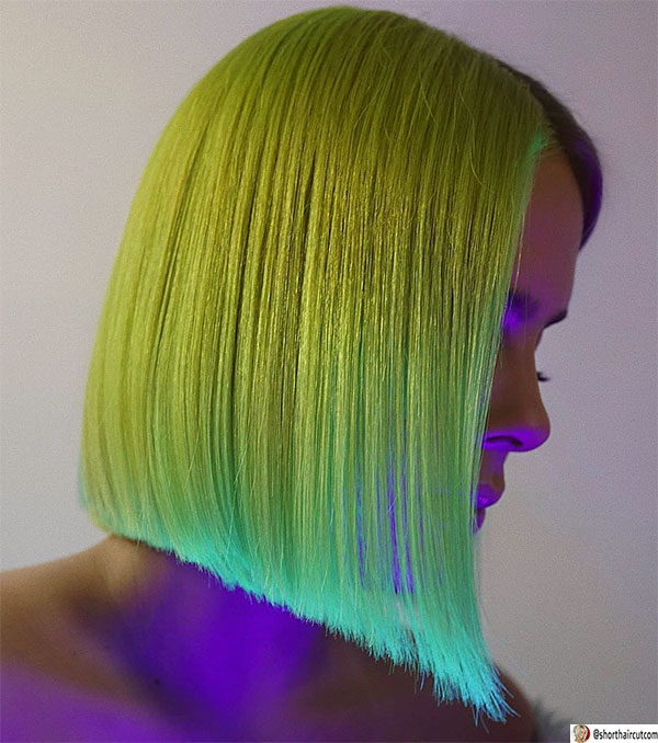 lob-haircut-for-straight-hair-1 20 Short and Green Hairstyles You Will Want to Copy