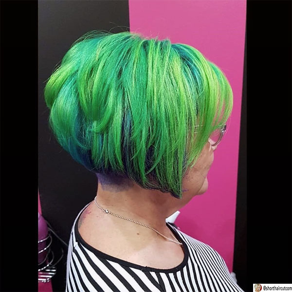 short-and-green-hairstyles-6-1 20 Short and Green Hairstyles You Will Want to Copy