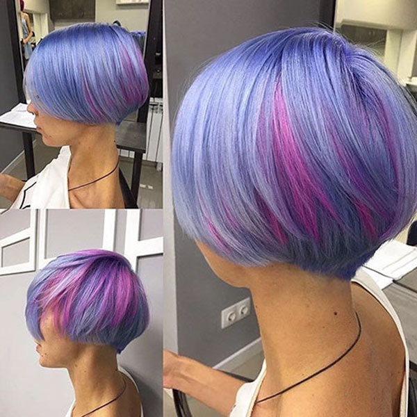 pink-and-purple-hair-color-1 35 Perfect Pixie Haircuts You Need to Try Immediately