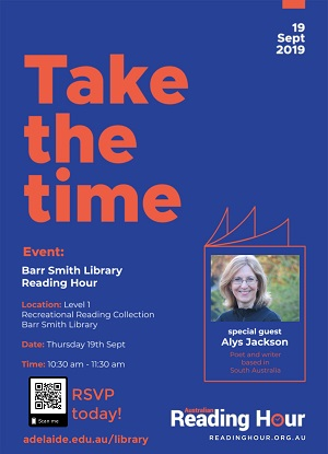 Alys Jackson: Barr Smith Library Event