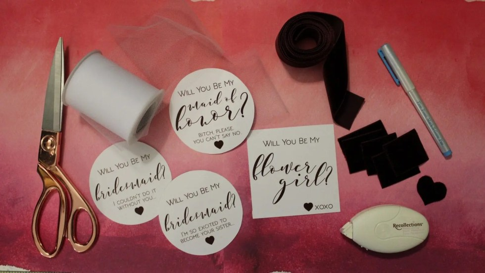 DIY-Bridesmaids Boxes