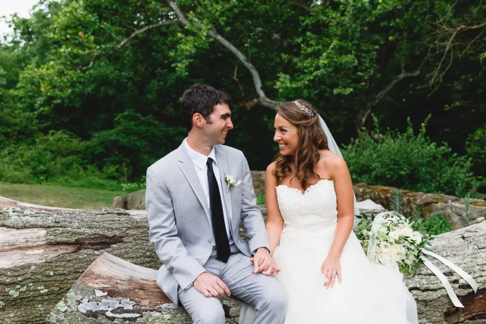 From Elementary School to %22I Do%22- A Beautiful Outdoor Wedding-