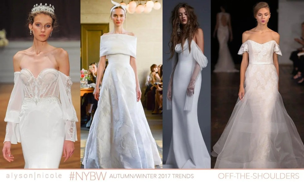 new york bridal week- off the shoulders