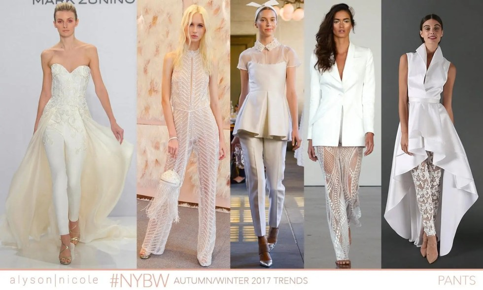 new york bridal week- PANTS
