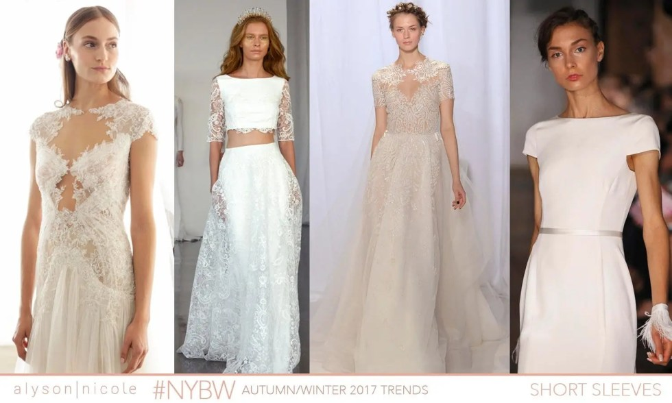 new york bridal week- short sleeves