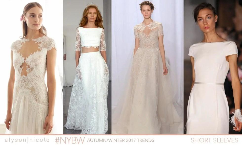 new york bridal week- short sleeves