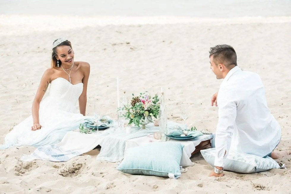 Elegant Beach Elopement