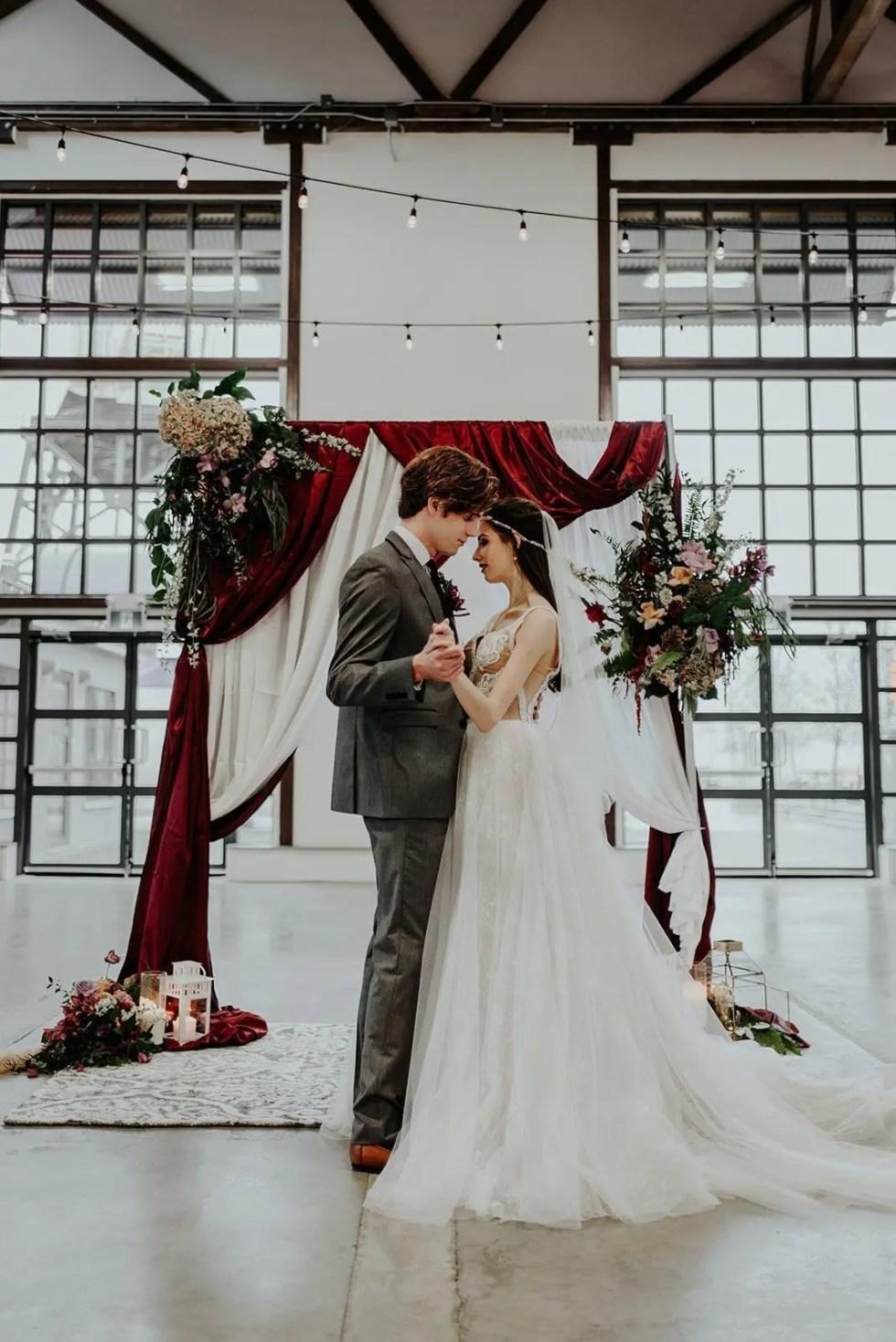 Moody Parisian Wedding Inspiration