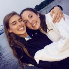 me and syd by the water at state