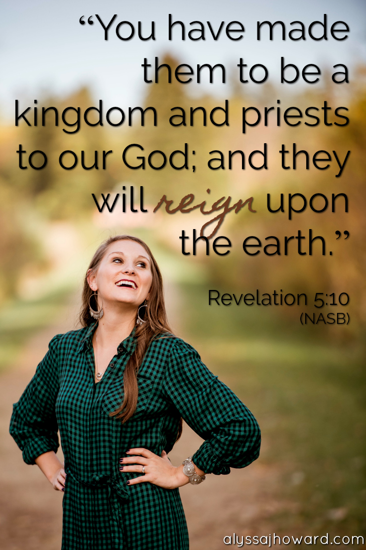 Royalty in Christ: Finding Rest in Who God Created You to Be   alyssajhoward.com