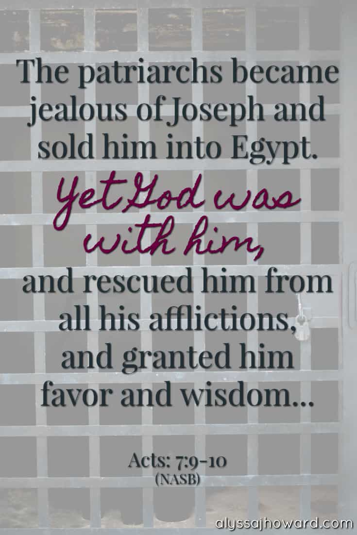 4 Powerful Lessons to be Learned from the Life of Joseph | alyssajhoward.com