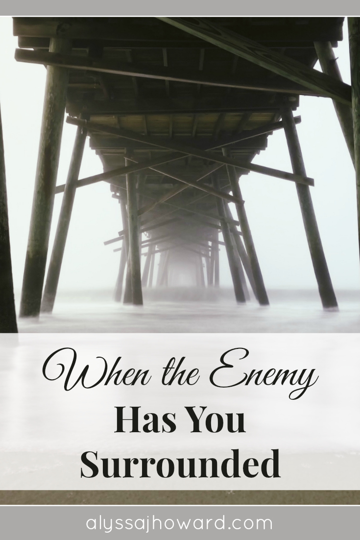 Do you ever feel like the enemy has you surrounded?The Bible tells us our battle is not against flesh and blood. And if we could spiritually see what the battle looked like, we would no longer be afraid. This is exactly what happened for Elisha and the Syrian army.