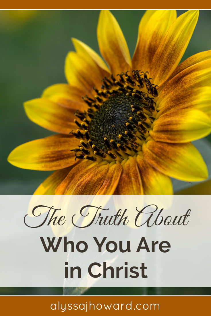 The Truth About Who You Are In Christ Jesus | alyssajhoward.com