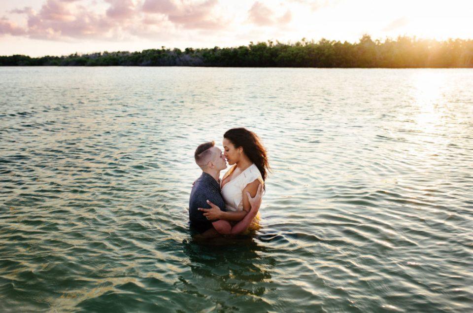 Florida Keys engagement session
