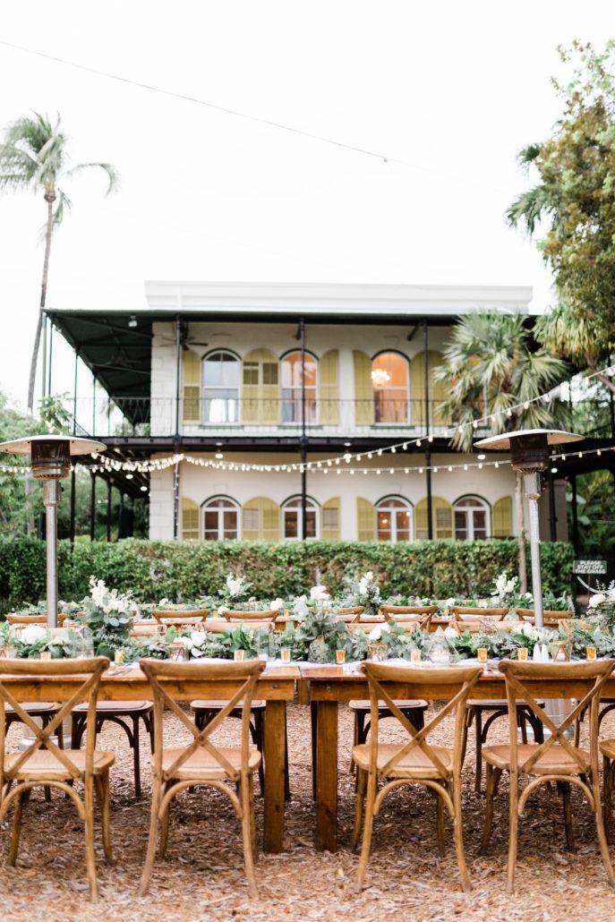 Hemingway home wedding