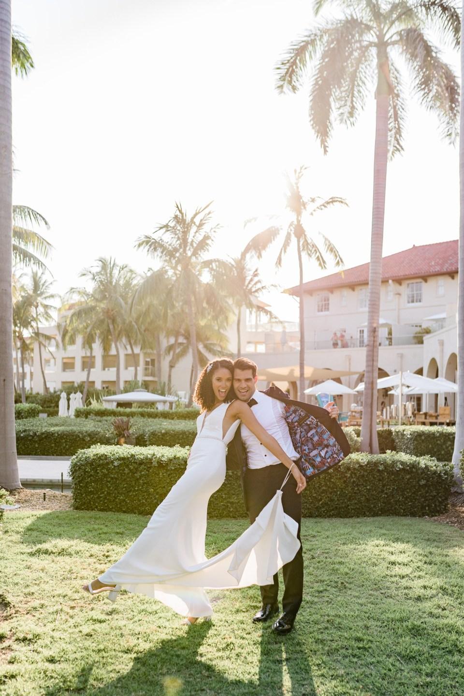 Summer wedding in Key West, Florida