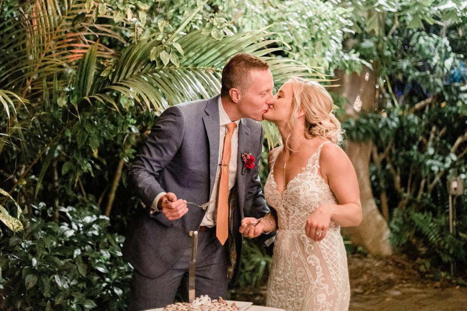 Wedding at The Hemingway Home with planning by Destination Wedding Studio