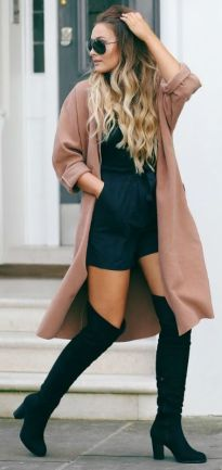 BOOHOO - Abigail Over Knee Heeled Boot; Source: thatpommiegirl.com