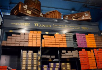 Wall of wands
