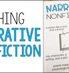 Teaching Narrative Nonfiction - Alyssa Teaches [ 832 x 1499 Pixel ]