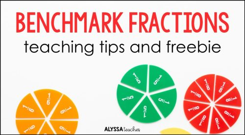 small resolution of Using Benchmark Fractions to Compare Fractions - Alyssa Teaches