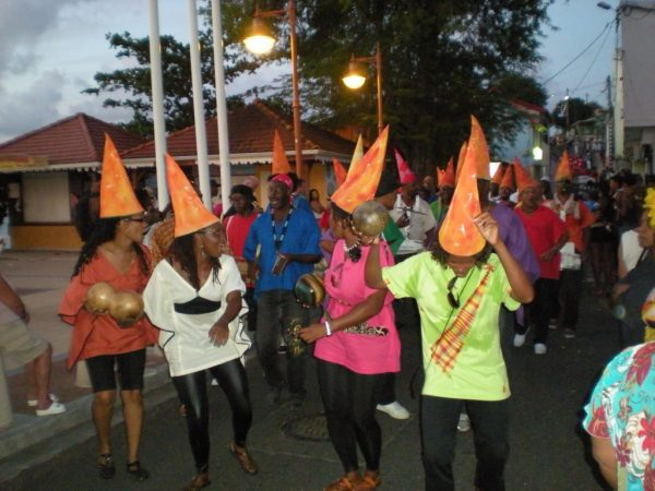 teaching assistant in France, Martinique, Carnival in Ste Anne