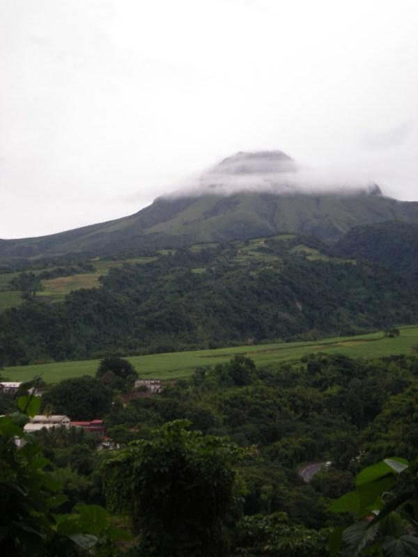 Montagne Pelee from Saint Pierre