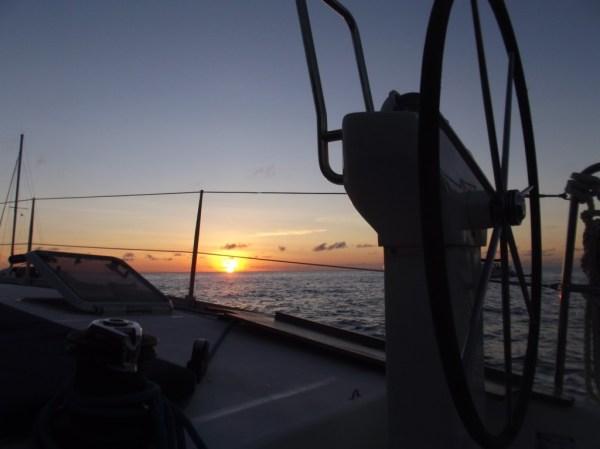 Stern of boat, Dominica, Roseau