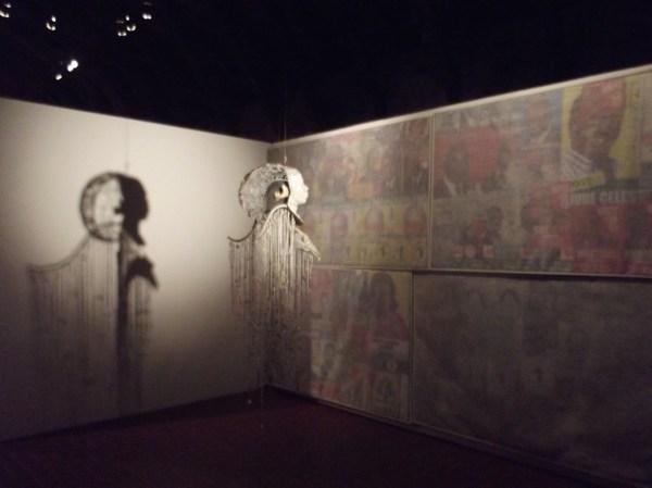 haitian art, Royaume de ce monde, L'ange sacrifié, 2011 - Pascal MONNIN