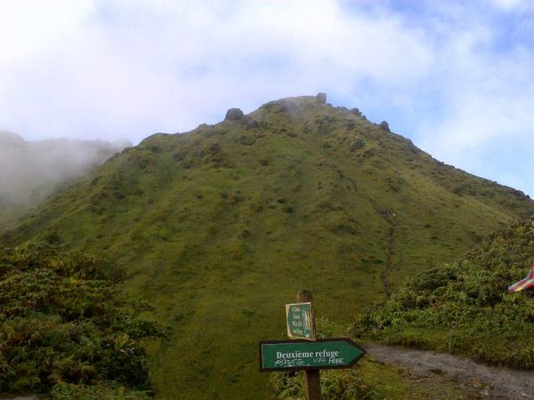 Randonnee l'Aileron, hike, Martinique, Montagne Pelee