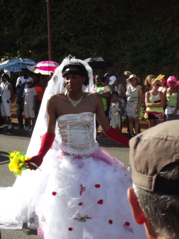 Les mariages burlesques, Carnaval, Martinique