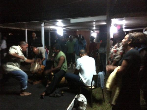 Le danmye in Martinique