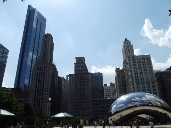 The Bean, Cloud Gate, Millennium Park, Chicago